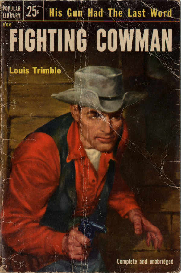 Fighting Cowman (1953) #506 Front