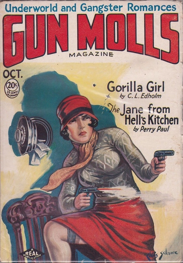 Gun Molls Magazine October 1930