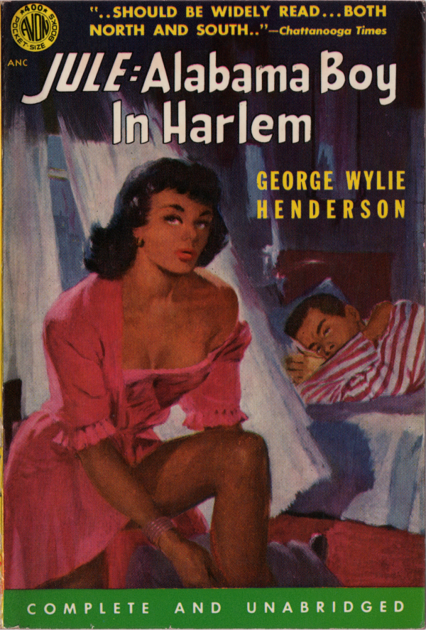 Jule Alabama Boy in Harlem (1952) Front