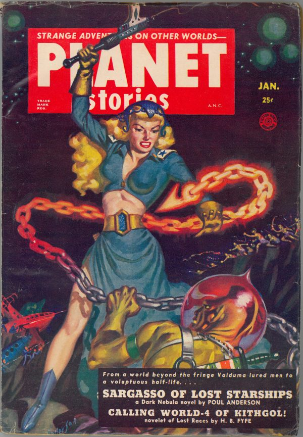 Planet Stories January 1952