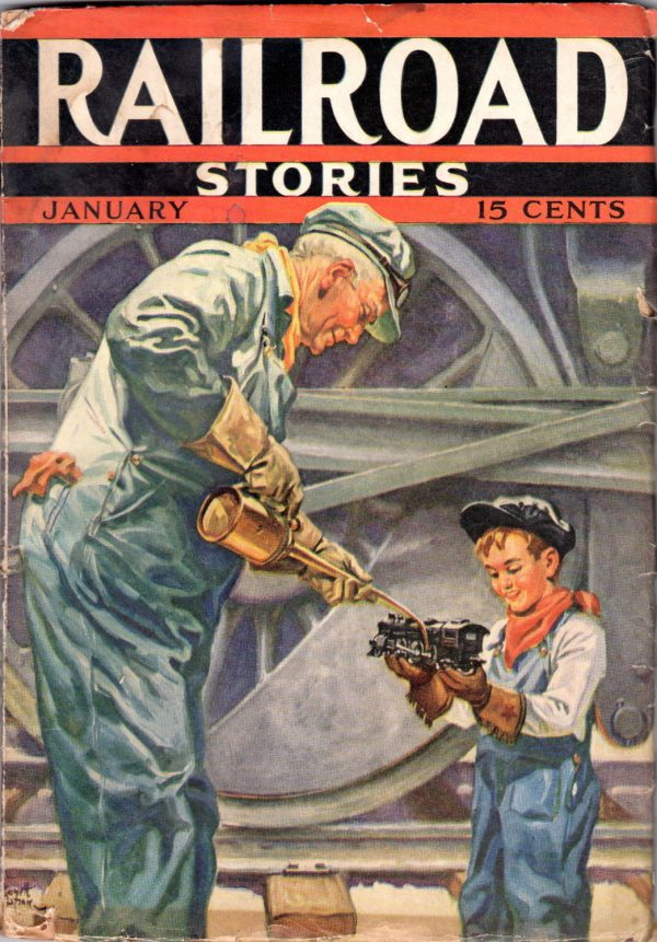 Railroad Stories January 1937