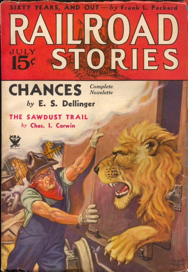 Railroad Stories July 1934