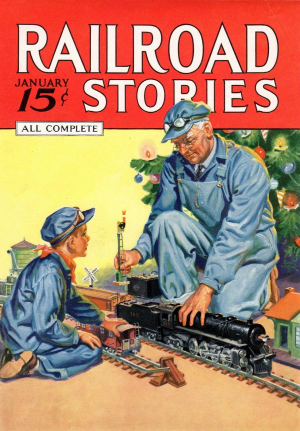 Railroad Stories Magazine January 1936