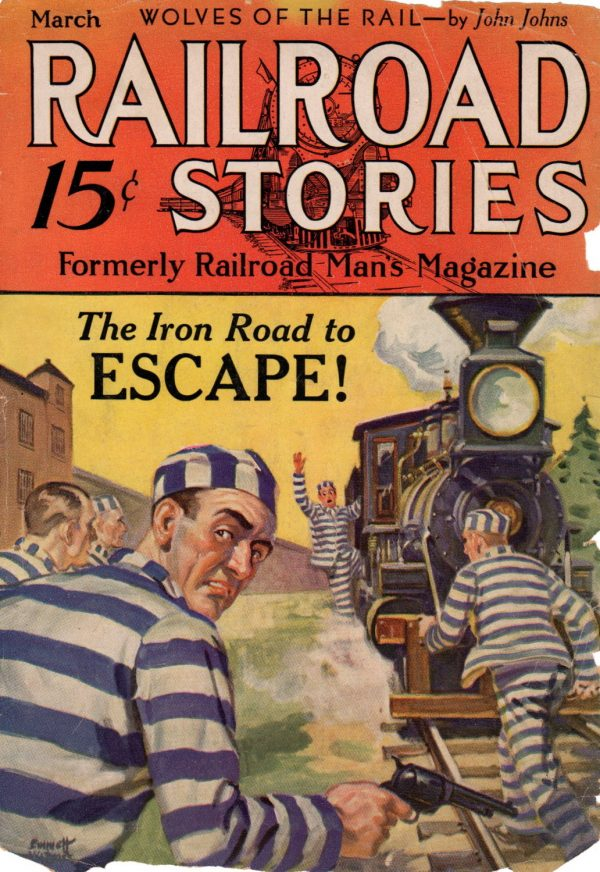 Railroad Stories March 1932
