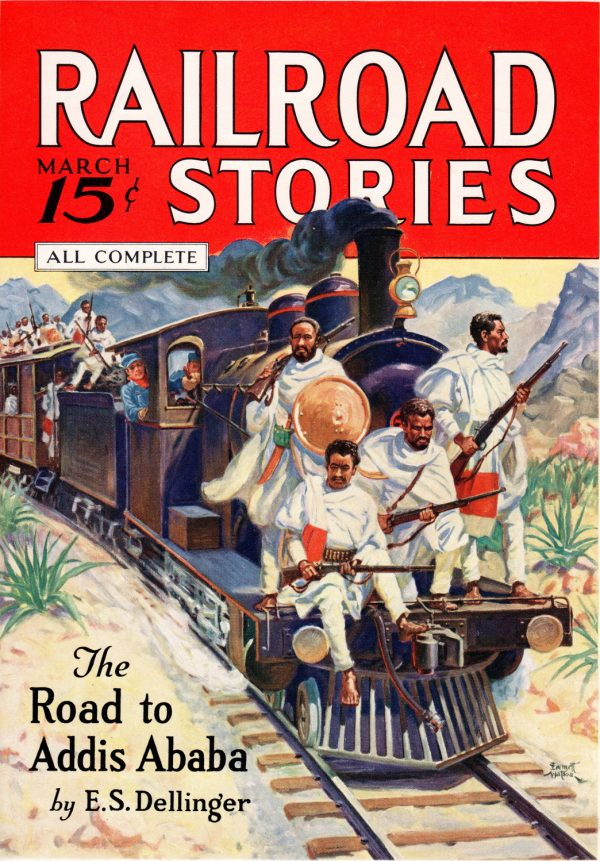 Railroad Stories March 1936