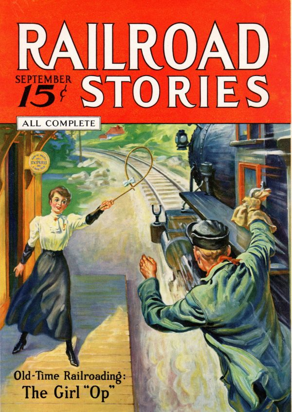 Railroad Stories September 1935