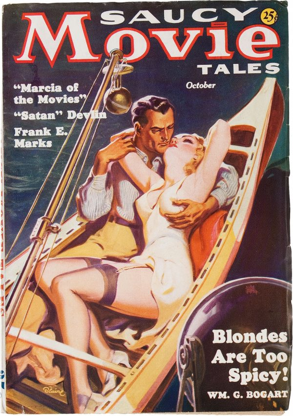 Saucy Movie Tales - October 1936