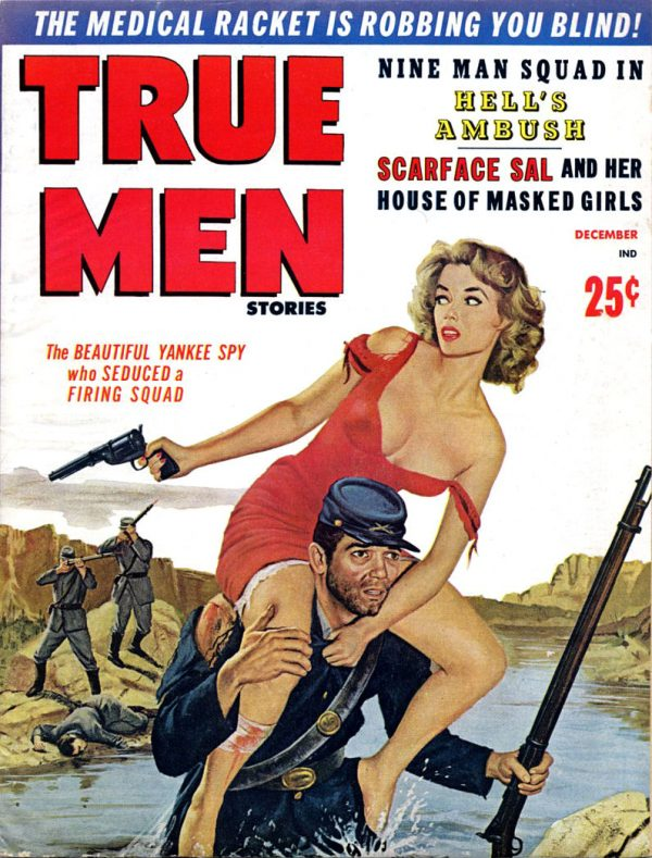 TRUE MEN STORIES, Dec. 1959