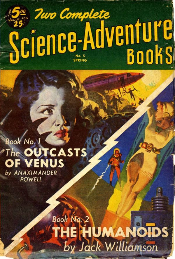 Two Complete Science-Adventure Books # 5 1952 Spring