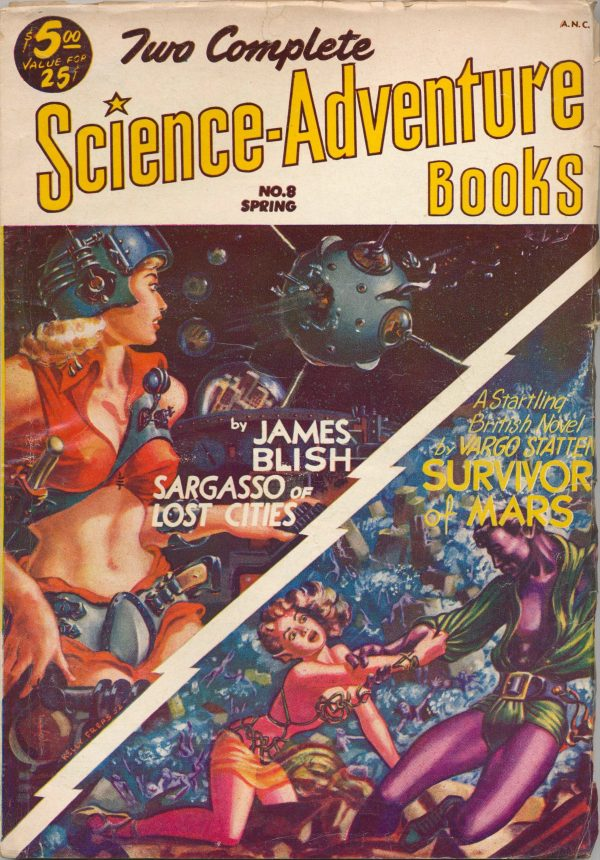 Two Complete Science-Adventure Books Spring 1953
