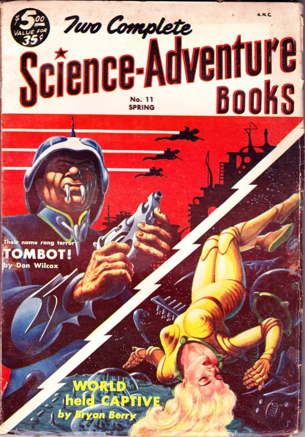 Two Complete Science-Adventure Books Spring 1954