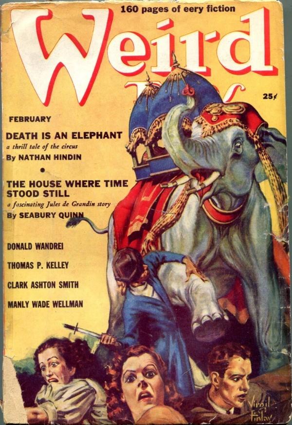 Weird Tales February 1939