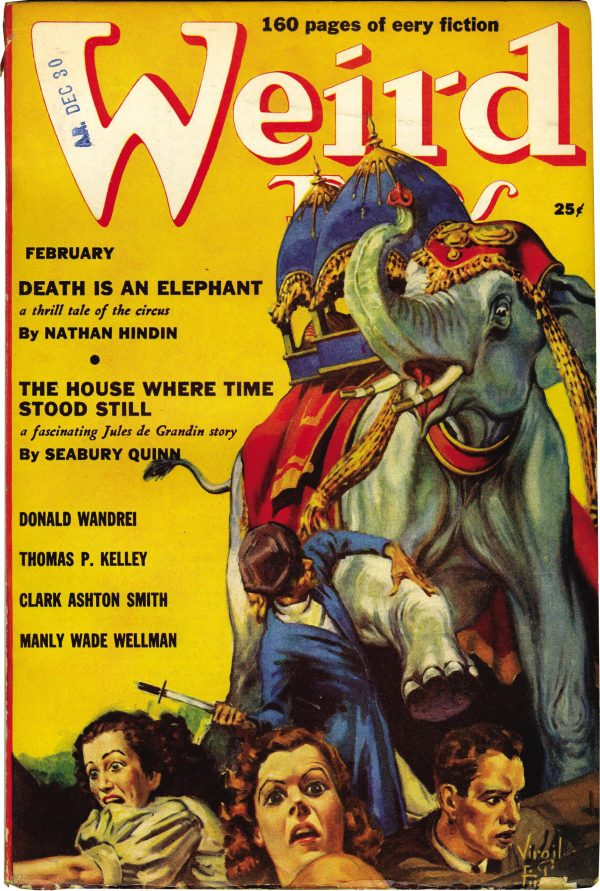 Weird Tales, February 1939