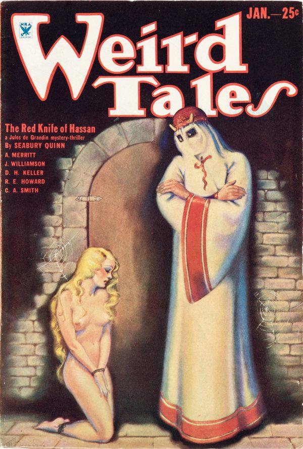 Weird Tales - Jan 1934