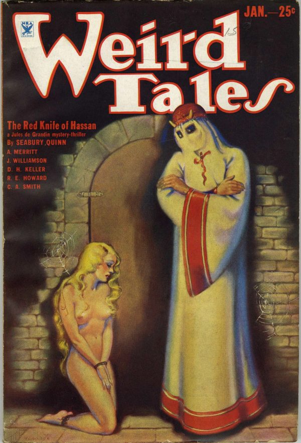 Weird Tales January, 1934