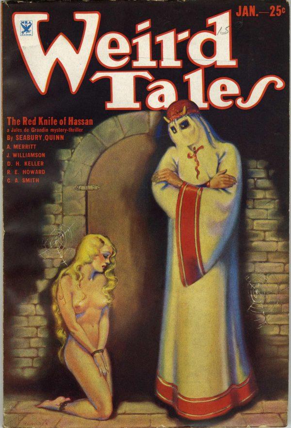 Weird Tales January, 1934
