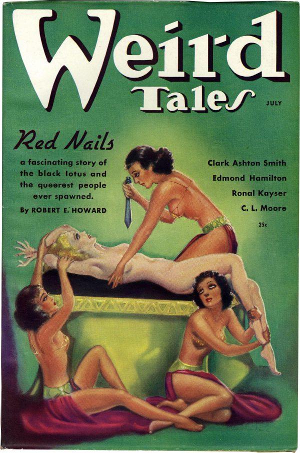 Weird Tales July 1936