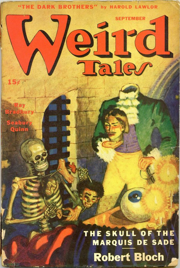 Weird Tales Magazine September 1945