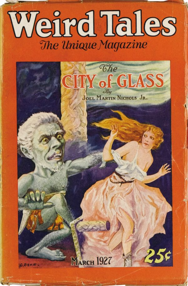 Weird Tales March 1927