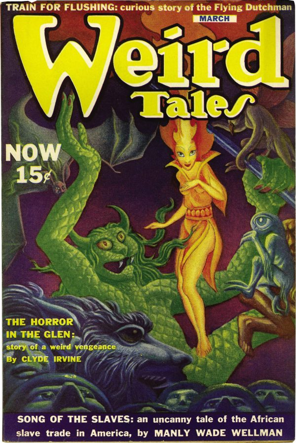 Weird Tales, March 1940