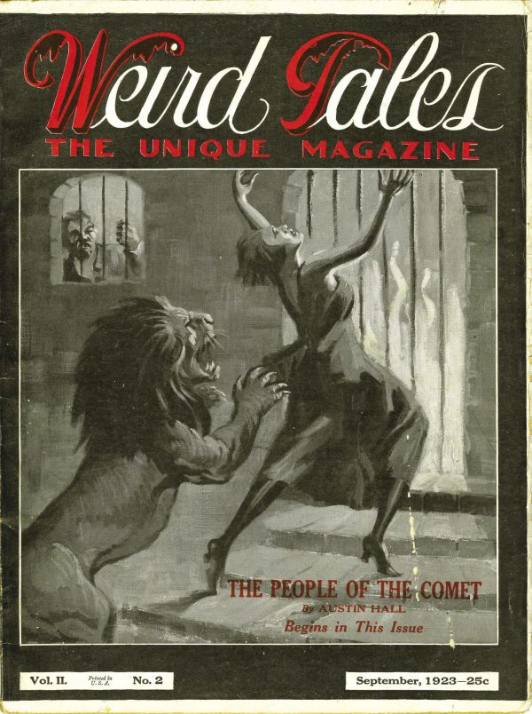 Weird Tales September 1923
