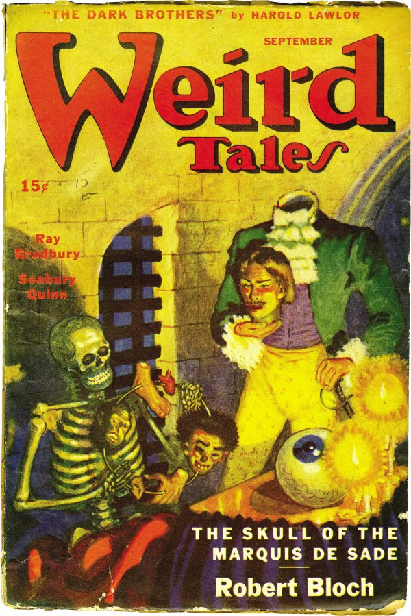 Weird Tales, September 1945