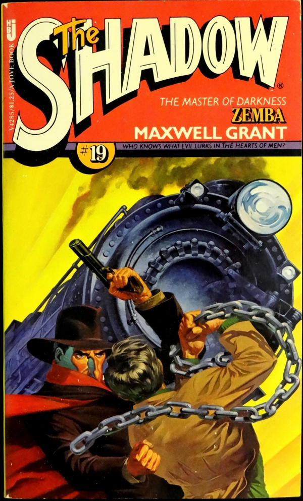 THE SHADOW #19, ZEMBA by Maxwell Grant - 1977