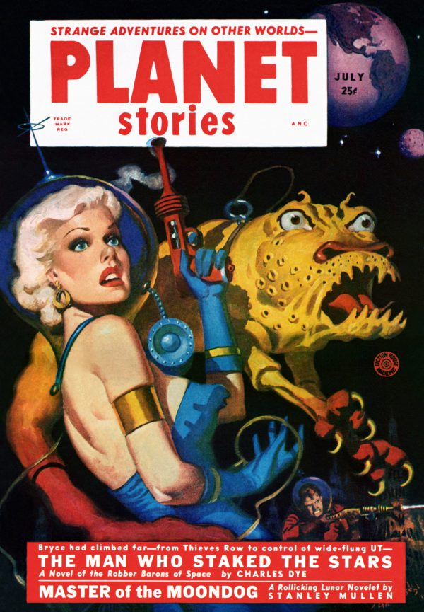 Planet Stories July 1952