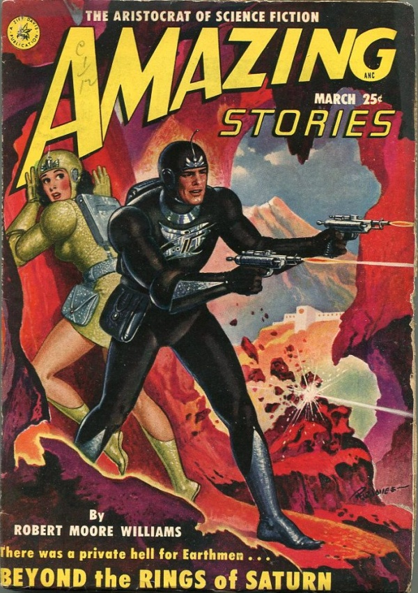 Amazing Stories 1951 March