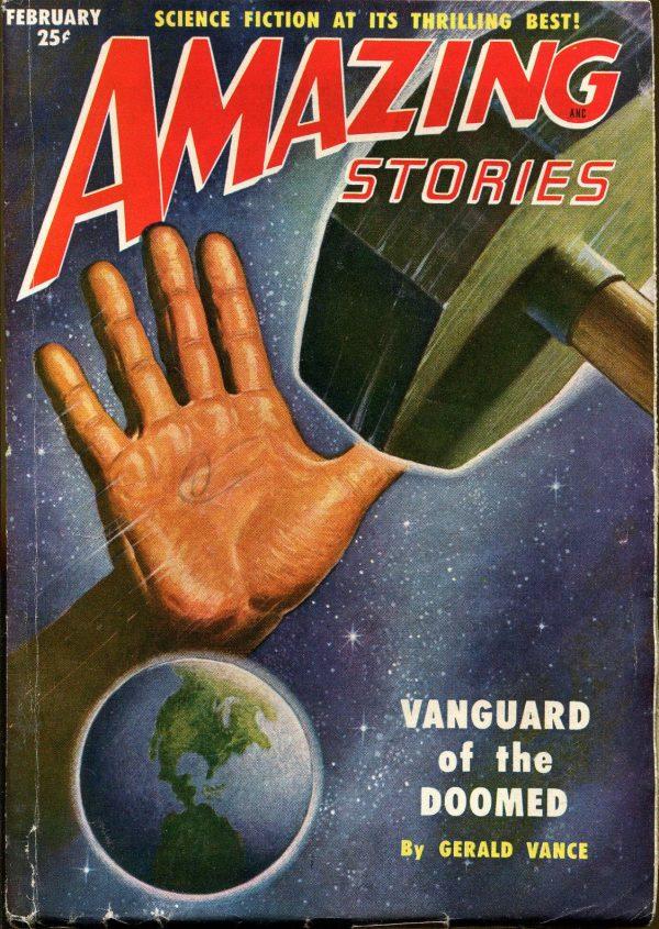 Amazing Stories February, 1951