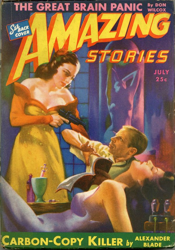 Amazing Stories July 1943