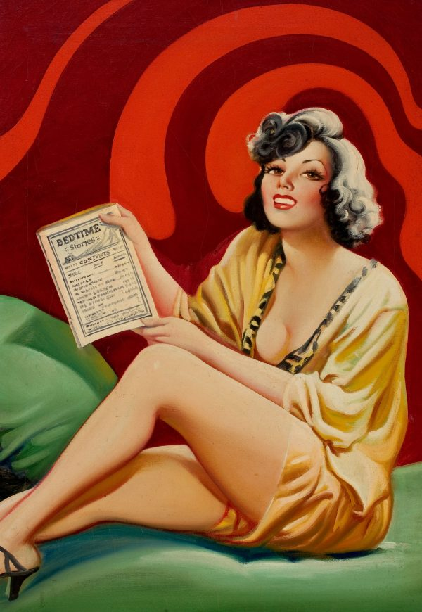 Bedtime Stories pulp cover, April 1935