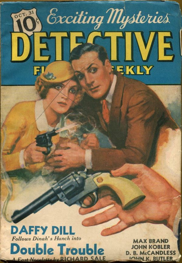 DETECTIVE FICTION WEEKLY, Oct 31, 1936
