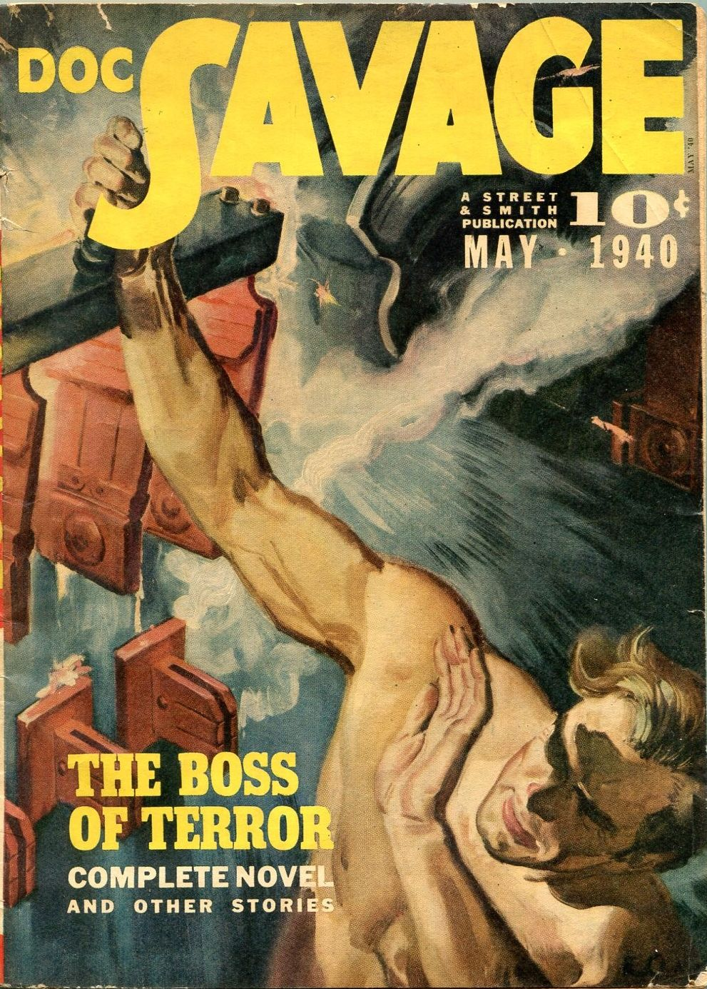DOC SAVAGE #10, The Phantom City by Kenneth Robeson