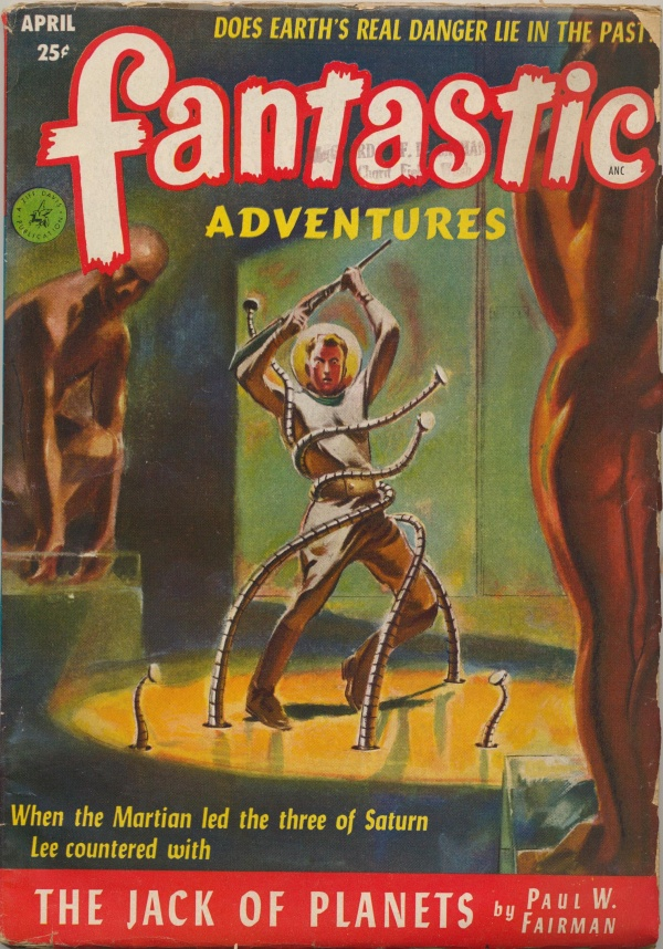 Fantastic Adventures, April 1952