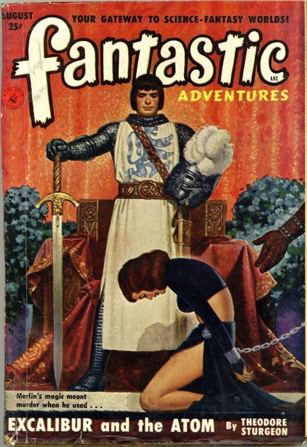 Fantastic Adventures Aug 1951