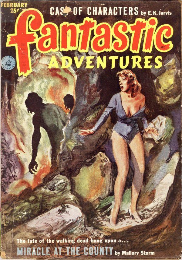 Fantastic Adventures February 1953