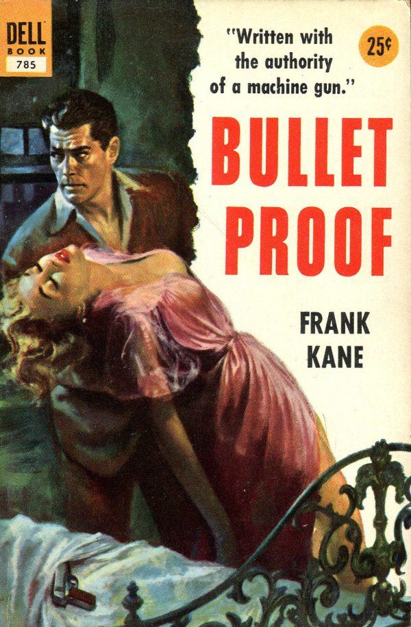 Frank Kane-Bullet Proof-Vintage Dell Paperback-1954