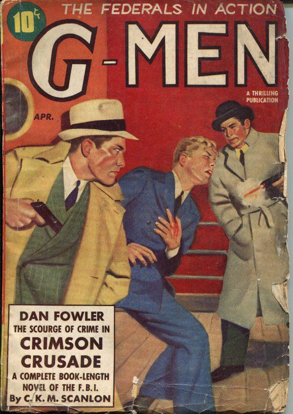 G-Men Pulp-April, 1939