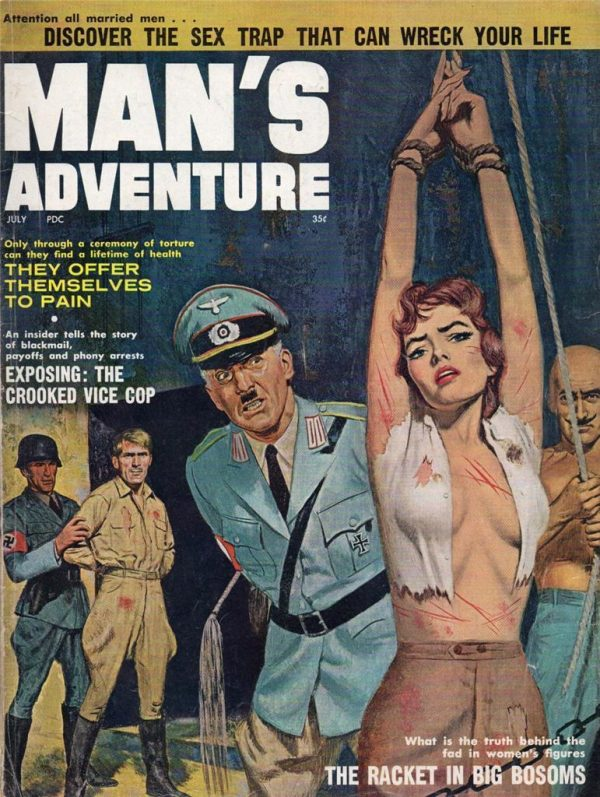 Man's Adventure Magazine July 1961