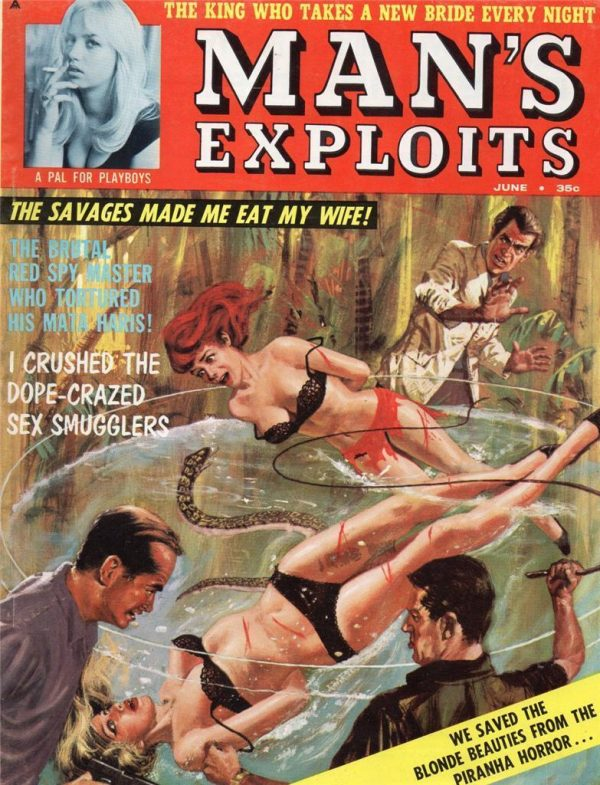 Man's Exploits June 1963