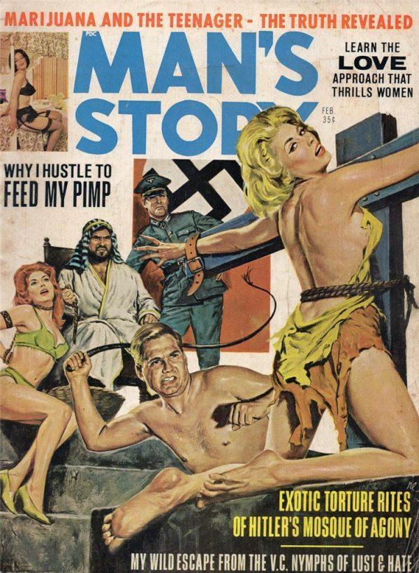 Man's Story February 1968