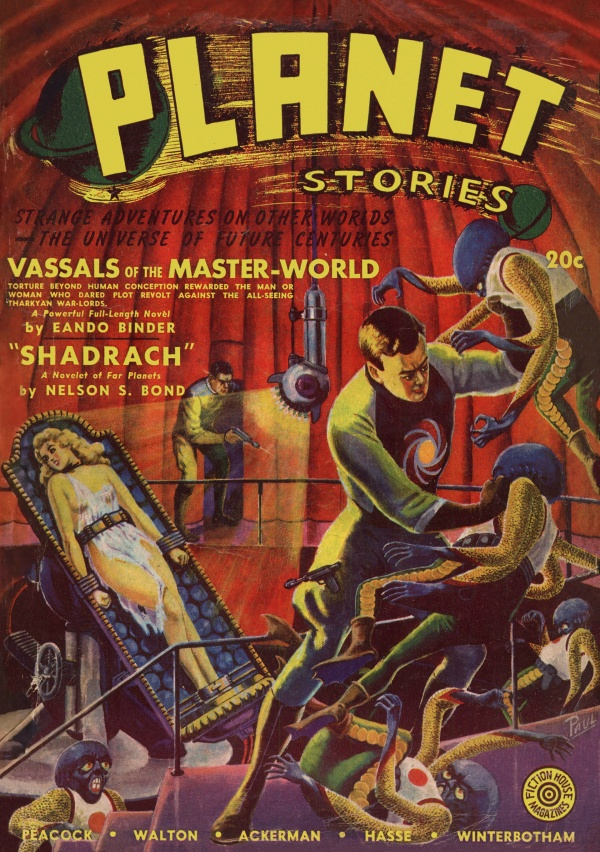 Planet Stories, Fall 1941