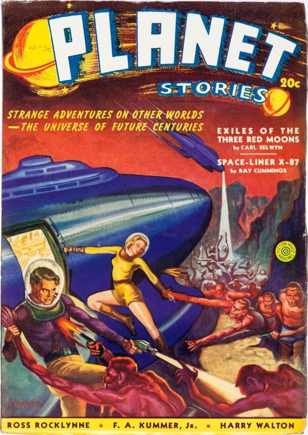 Planet Stories, Summer 1940