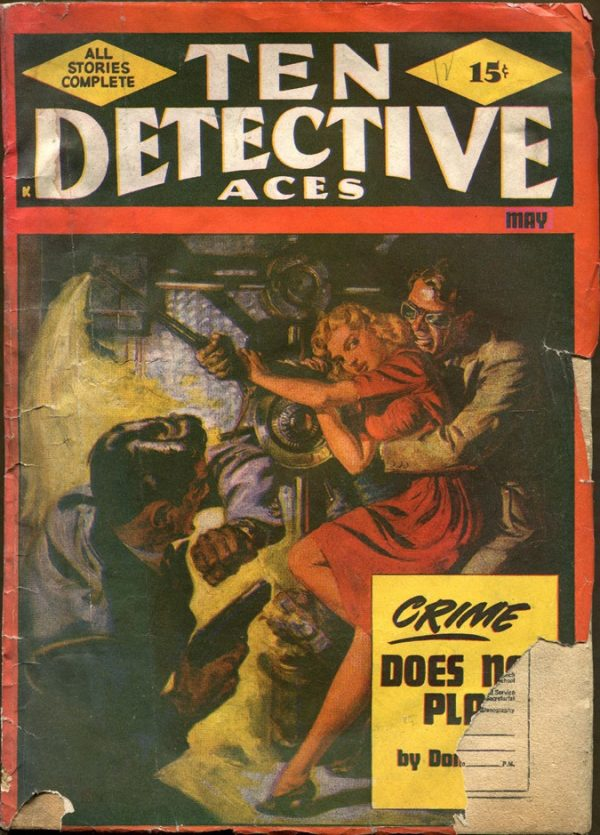 TEN DETECTIVE ACES, May 1948
