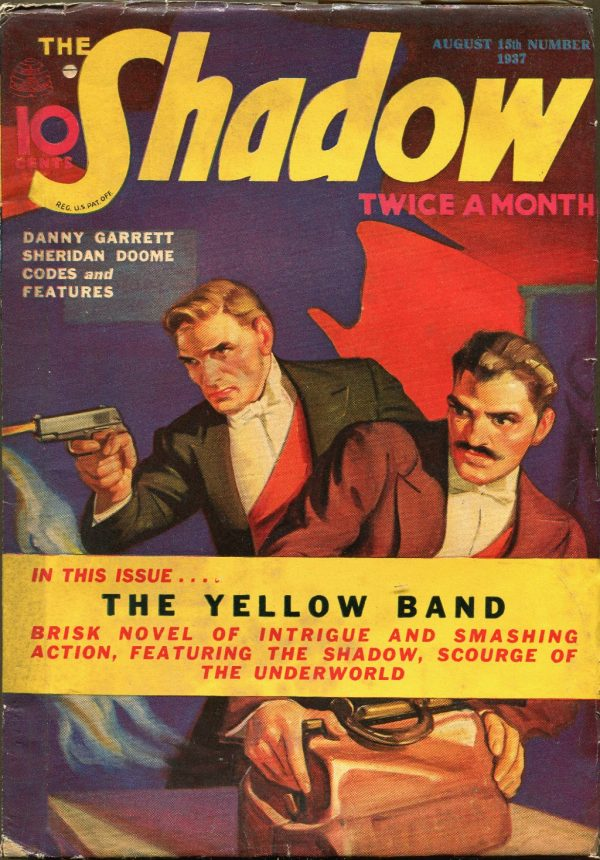 THE SHADOW Magazine Aug 15, 1937