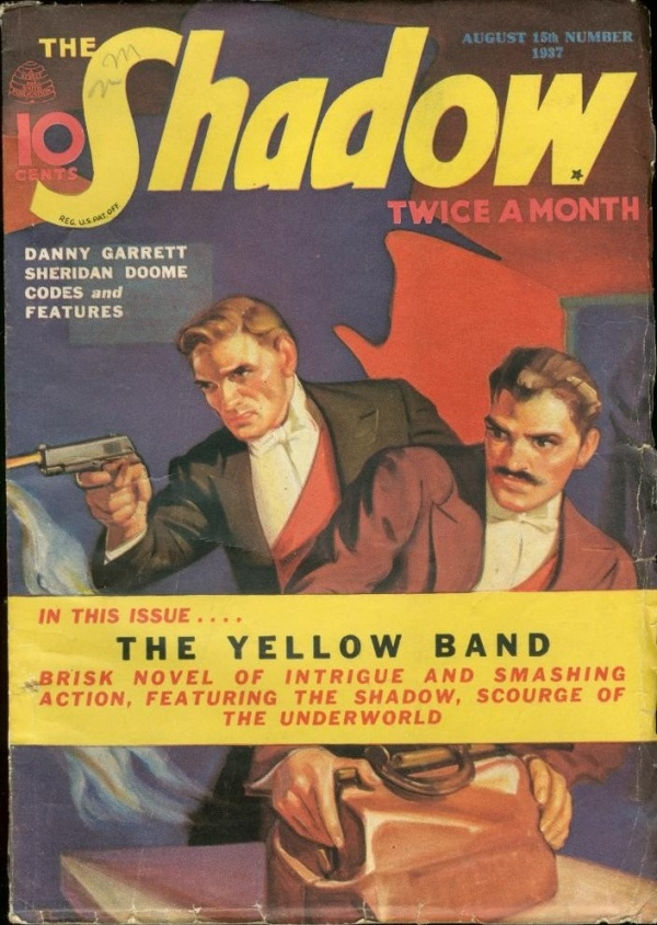 THE SHADOW Magazine August 15, 1937
