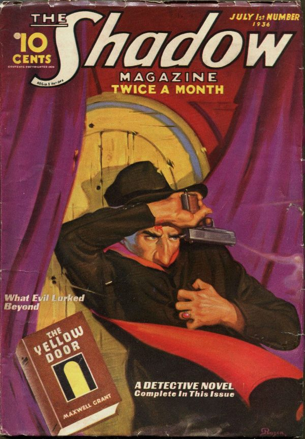 THE SHADOW Magazine July 1, 1936