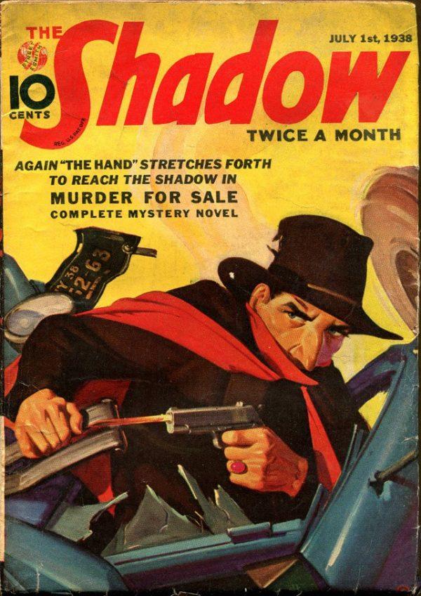 THE SHADOW Magazine July 1, 1938