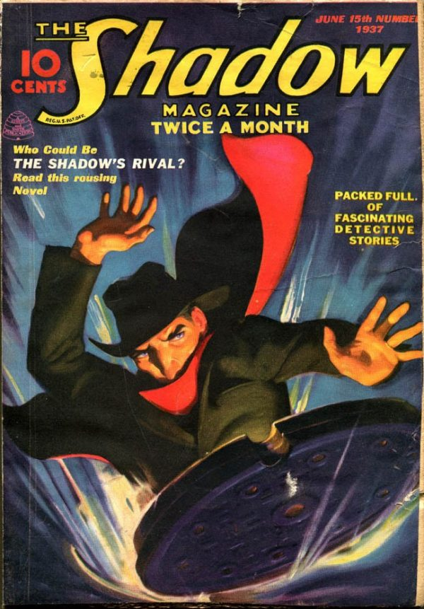 THE SHADOW Magazine June 15, 1937